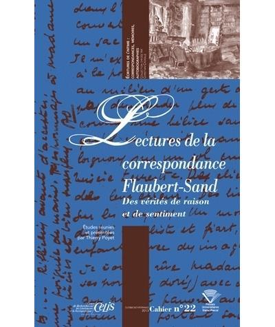 Lectures de la correspondance Flaubert-Sand