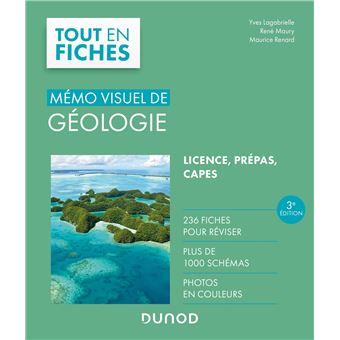 Mémo visuel de géologie : L'essentiel en fiches et en couleurs