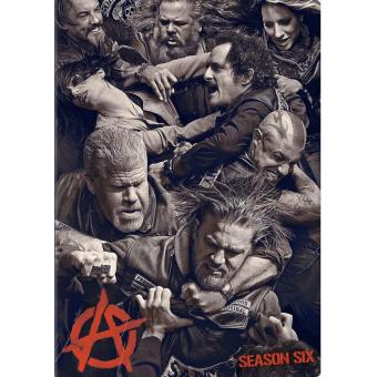 Sons of Anarchy, Saison 6 : Piste audio française - 4 DVD