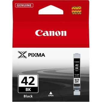 Cartouche d'encre Canon CLI-42BK Noir Photo pour Imprimante Pixma Pro 100