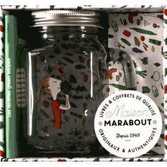 Les Paresseuses - Les Paresseuses, Coffret avec 50 recettes de soupes et de veloutés détox et 1 mason jare avec sa paille, Nouvelle édition