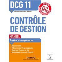 DCG 11 Contrôle de gestion - Manuel - Réforme 2019-2020