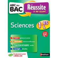 ABC du bac réussite sciences 1ère ES-L