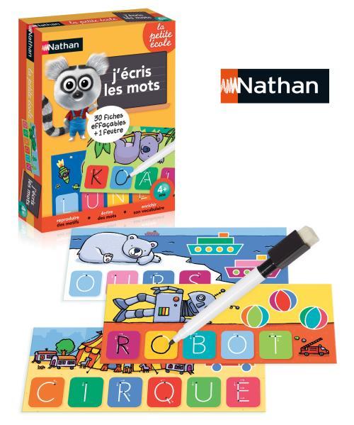 Jeu découverte J'écris les mots Nathan