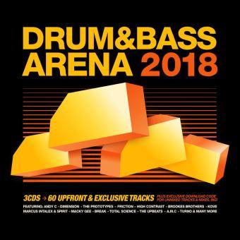 DRUM&BASSARENA 2018/3CD