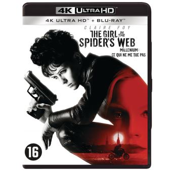 GIRL IN THE SPIDER S WEB-BIL-BLURAY 4K