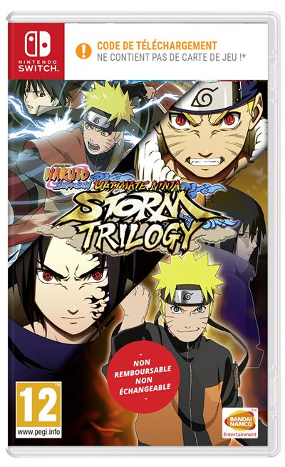 Code de téléchargement Naruto Shippuden Ultimate Ninja Storm Trilogy Nintendo Switch