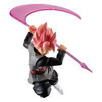 Figurine Dragon Ball Super Styling Collection Son Goku Super Saiyan rose  tenue noir 10 cm