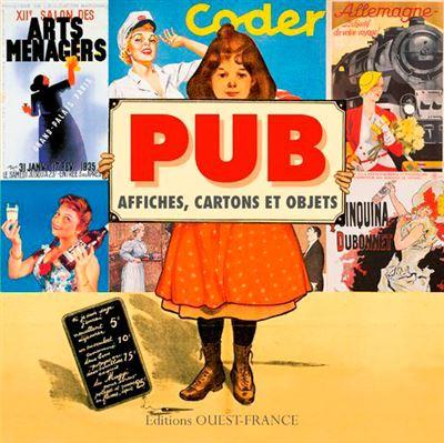 Pub affiches cartons et objets