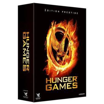 Hunger GamesHunger Games Coffret Prestige Edition Limitée Fnac Combo Blu Ray + DVD