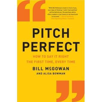 pitch perfect pdf bill mcgowan