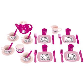 coffret th ecoiffier hello kitty