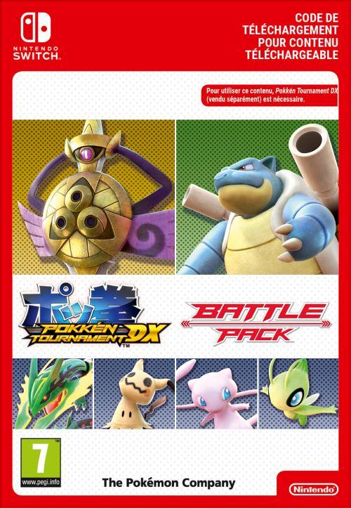 Code de téléchargement Pokémon Tournament DX Battle Pack Nintendo Switch