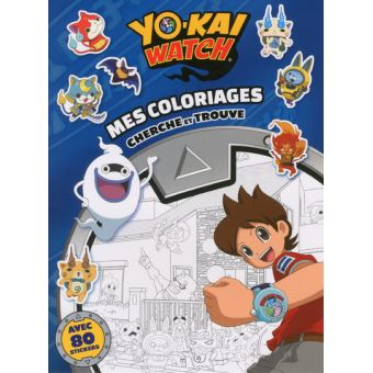 Yokaï WatchYo-kai Watch - Mes coloriages cherche-et-trouve