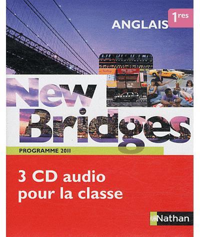 New Bridges 1re - cd audio classe