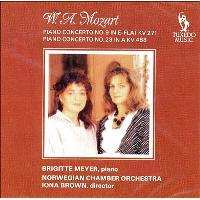 Concertos pour piano en mi bémol majeur N°9 et N°23