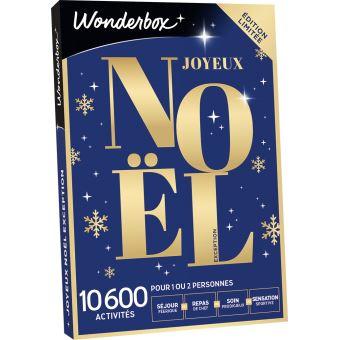 Coffret cadeau Wonderbox Joyeux Noël Sensation Exception   Coffret