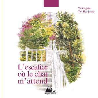 L'escalier ou le chat m'attend