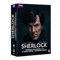 Coffret Sherlock Saisons 1 à 4 DVD