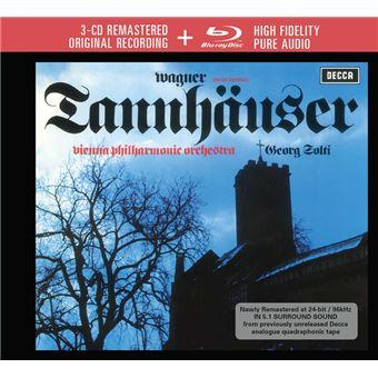 Tannhäuser Coffret Inclus Blu-ray Audio