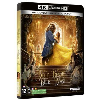 La belle et la bêteLa Belle et la Bête Blu-ray 4K Ultra HD