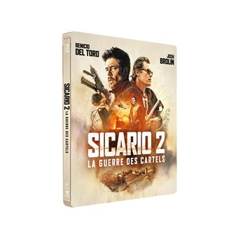 SicarioSicario 2 La Guerre des Cartels Steelbook Edition limitée Blu-ray