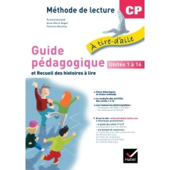 À tire-d'aile CP, Guide Pédagogique NON VENDU SEUL Compose le 9653593