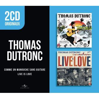 2 CD originaux : Live Is Love Comme un manouche sans guitare