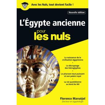 Pour les nulsL'Egypte ancienne Poche Pour les Nuls NE
