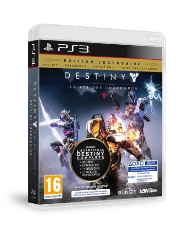 Destiny Edition Légendaire Le Roi des Corrompus PS3