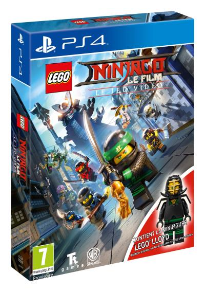 LEGO Ninjago Le film Le jeu vidéo Edition Day One PS4