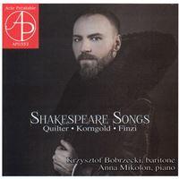 Shakespare songs