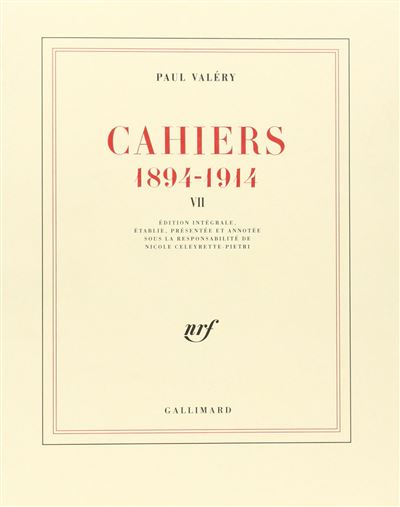 Cahiers (Tome 7-1904-1905)