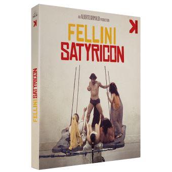 Fellini Satyricon Combo Blu-ray DVD