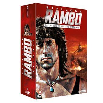 RamboCoffret Rambo La Trilogie DVD