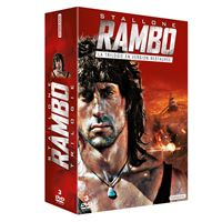 Coffret Rambo La Trilogie DVD