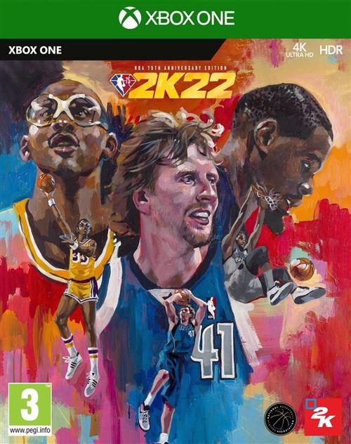 NBA 2K22 Edition 75ème Anniversaire Xbox One