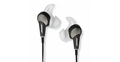 Écouteurs à réduction de bruits Bose QuietComfort 20i Noir