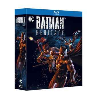 Batman animated seriesCoffret Batman Heritage 3 films Blu-ray