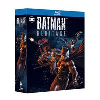 COFFRET BATMAN HERITAGE 3 FILMS-BLURAY-FR