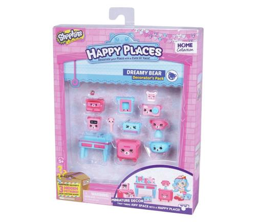 Shopkins Happy endroits série 2 livraison Pack 4 fourni-NEUF dans emballage