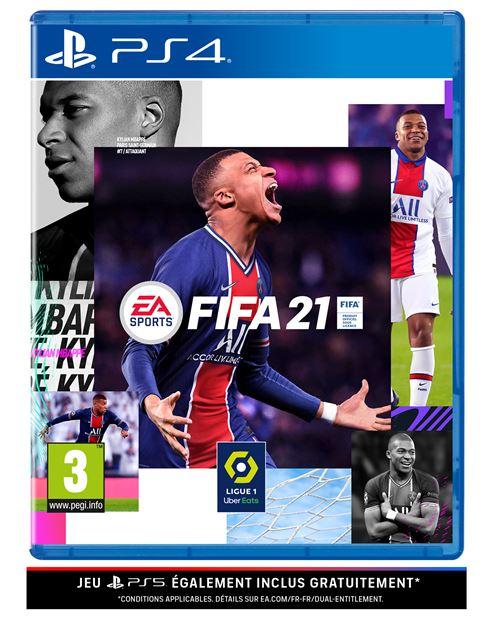 FIFA 21 PS4 - Version PS5 incluse