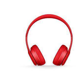 casque beats solo 2 wireless rouge casque filaire. Black Bedroom Furniture Sets. Home Design Ideas
