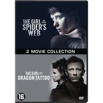 GIRL IN THE SPIDER S WEB+GIRL WITH THE DRAGON TATTOO-BIL