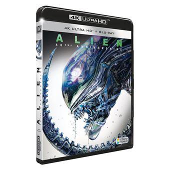 AlienAlien, le 8ème passager Edition du 40ème Anniversaire Blu-ray 4K Ultra HD