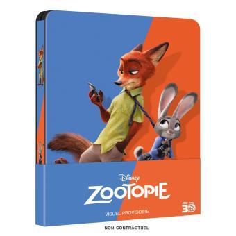 ZootopieZootopie Steelbook Blu-ray 3D + 2D