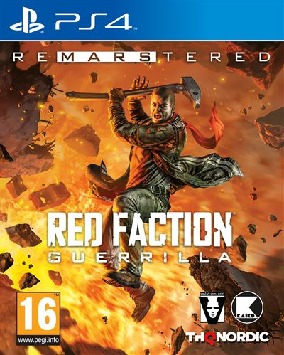 Red Faction Guerrilla Remastered PS4