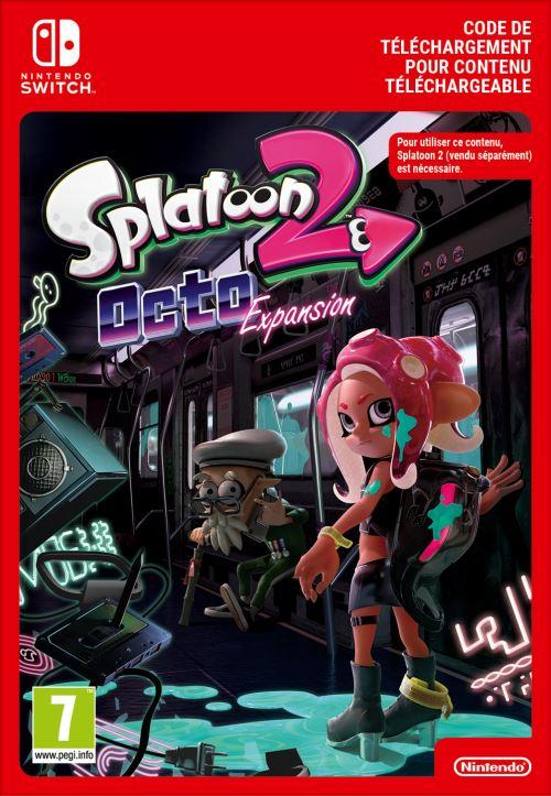 Code de téléchargement Splatoon 2 Octo Expansion Nintendo Switch