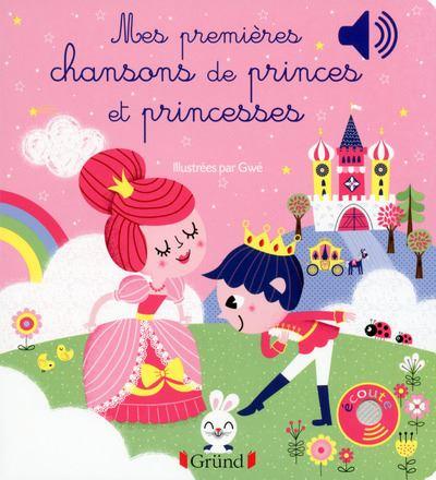 Mes premières chansons de Princes et Princesses, Livre sonore
