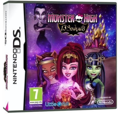 Monster High 13 Souhaits DS - Nintendo DS